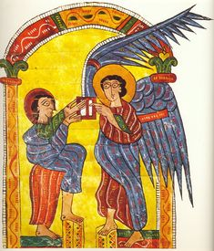 The Escorial Beatus is a 10th century illuminated manuscript of the Commentary on the Apocalypse by Beatus of Liébana. Apollo-WordVirusBlogspot