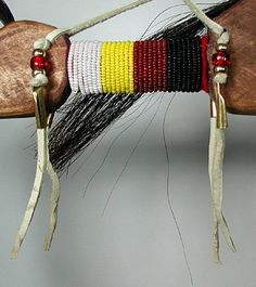 Lakota Horse Dance Stick Native American Oglala Ashley Monroe Hand ...