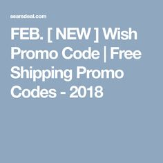 Shipping coupons for wish