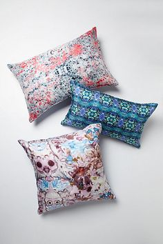 Morphology Silk Pillow #anthropologie #Steviehowell