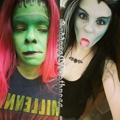 #lilymunster #hermanmunster #themunsters #makeupart #makeup #cosplay