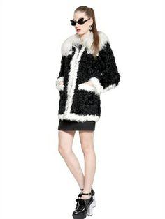 Mongolia & Kalgan Faux Fur Coat