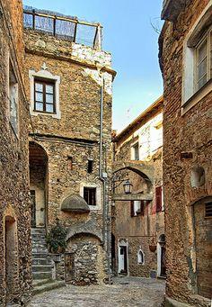 Castelvecchio di Rocca Barbena, Savona - Borgo medievale, Savona, Province of Savona, Liguria region Italy