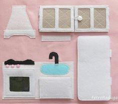 Baby Quilting Patterns Boy Fabrics 32 Ideas For 2019 Quiet Book Templates, Quiet Book Patterns, Felt Patterns, Quilting Patterns, Diy Quiet Books, Felt Quiet Books, Felt Doll House, Diy Fairy Door, I Spy Quilt