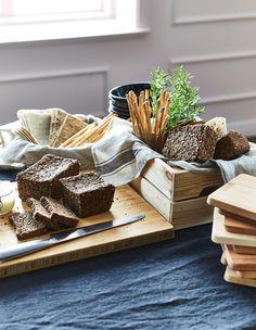 Ei tarvitse alkaa jauhopeukaloksi. IKEA-tavaratalosta löydät kaikki leivät, joita tarvitset illalliskutsuillesi.