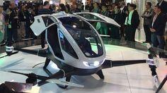 """Çin Yapımı """"Uçan Taksiler"""" Dubai'de - http://eborsahaber.com/haberler/cin-yapimi-ucan-taksiler-dubaide/"""