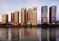 The Nile Corniche st.regis hotel Michael graves architect