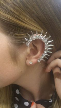 Edgey ear cuff