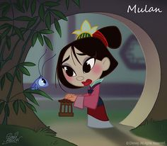 disney fan art *Mulan*