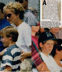 Diana, Harry, William article 1993