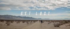 Get Lost - short film -  Directed by Ben Conrad. A small job that I helped on designing the end credits