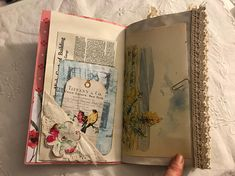 Travelers notebook insert junk journal style