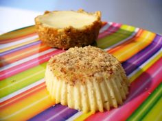 Primal Friendly and Gluten Free Mini Cheesecakes! Like making single serving cheesecakes :)