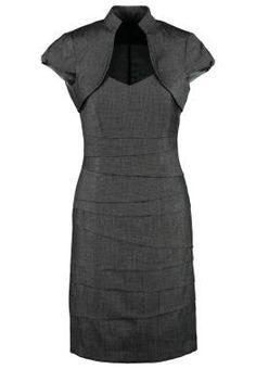 Comma Set Vestido De Tubo Black vestidos y faldas Recupera Estilosos armarios CentralModa.eu