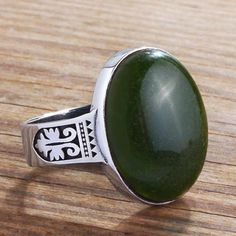NATURAL AGATE Mens Ring 925 Sterling Silver Handmade Vintage Ring for Man # jewelryonetsy # handmadering # mensaccessories #sterlingring #mensjewelry #mensfashion #menswear # mensjewelryshop # onlineshopping # menstylefashion