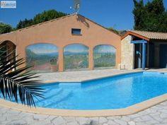 Villa piscine privée à 10km de la mer en Location vacance