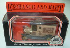 Lledo Days Gone van: Exchange & Mart (4)