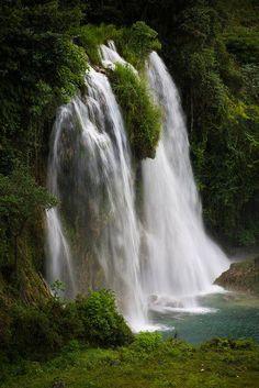 I spent 2 weeks in this beautiful place!  http://www.haitigotit.com/ Cascade Pichon in Haiti