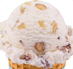Baskin-Robbins | Nutty Coconut Ice Cream....this is so yummy. Coconut lovers you have to try this!