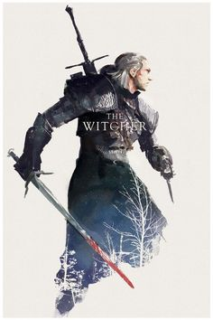 The Witcher, Geralt of Rivia The Witcher 3, The Witcher Wild Hunt, The Witcher Books, Witcher Art, Witcher 3 Geralt, Video Game Art, Video Games, Witcher Wallpaper, Arte Peculiar