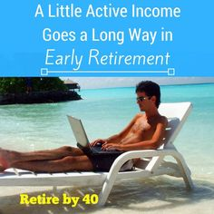 Passive income is great, but it might not be enough for early retirement. You…