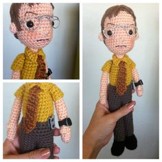 Dwight Shrute CRAFTYisCOOL: Back to crocheting!