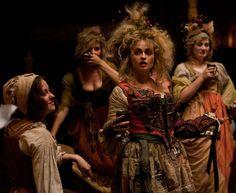 Helena Bonham Carter and Lily James at Cinderella (2015)