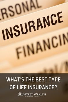 Learn About The Various Types Of Life Insurance Such As Whole Life And  Universal Life Insurance