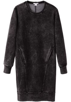 HELMUT Helmut Lang / Acid Wash Sweat Dress