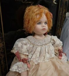GRACE ~ Very Unusual Doll ~ Made From Cloth!!!