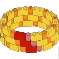 Lego bou idees on pinterest lego curved walls and lego modular - Idee construction lego ...