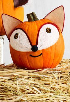 Fox Pumpkin - CountryLiving.com