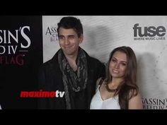 Sophie Simmons & Nick Simmons Assassin's Creed IV Black Flag Launch Part...