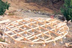 Yurt Kits | ... is the platform framing for a 30 foot diameter yurt kit by pacific