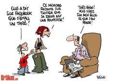 Les réseaux sociaux.
