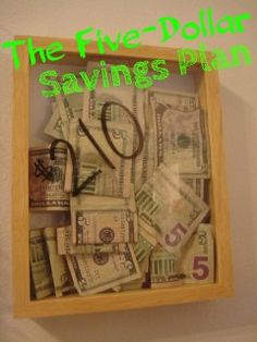 The Five-Dollar Savings Plan | Musings of a Marvelous Me
