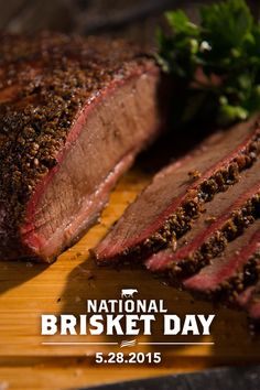 Get Ready for the Best Texas Brisket Recipe Online! Are you ready for the seriously awesome Butcher Paper BBQ Brisket Method? Beef Brisket Recipes, Traeger Recipes, Grilling Recipes, Pork Recipes, Grilling Ideas, Beef Meals, Tailgating Recipes, Yummy Recipes, Brine Recipe