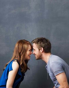 two beautiful people in one picture ;] Emma Stone, Ryan Gosling. Crazy, Stupid, Love.