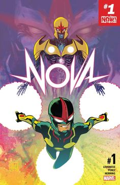Nova #1 cover by Ramon Perez.