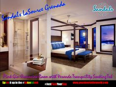 We can't wait to spice it up in the #SpiceIsland  #SandalsLaSource #Grenada #PinkGinOceanViewRoom #JustPackYourBag