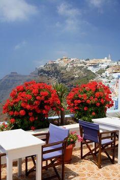 .~Santorini Island, Greece~.