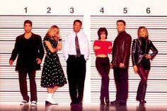 Friends! Joey Tribbiani (Matt LeBlanc), Rachel Green (Jennifer Aniston), Monica…