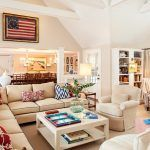 Burlap living room living room beach style with reading nook cathedral ceiling chevron pillows nautical fabrics