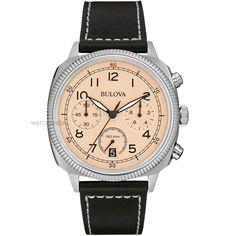 Bulova High Frequency chronograph, 96B231, quartz, 42mm, cushion case