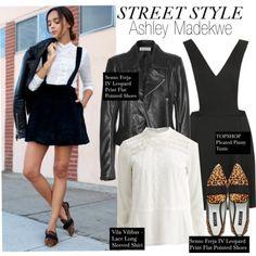 Street Style-Ashley Madekwe