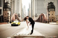 Wedding pictures in Chicago