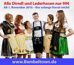 OKTOBERBEST TRACHTEN by Bembeltown Design - Ab 1. November 2016 alle Trachten, Dirndl und Lederhosen nur 99 Euro (solange Vorrat reicht!)  http://www.Bembeltown.de | #Oktoberfest #Octoberfest #GermanTracht #GermanCostume #OktoberfestCostume #GermanOktoberfest #Germany #Fashion #Dirndl #Lederhosen #GermanDress #Models #Shopping #GermanFashion #Frankfurt #FrankfurtamMain #Sachsenhausen #FrankfurterOktoberfest #Hessen #Hessian
