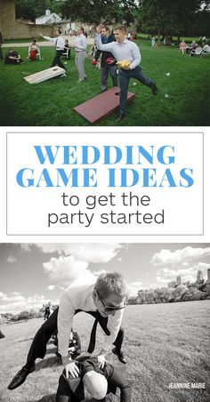 13 Wedding Games to Get the (Wedding) Party Started