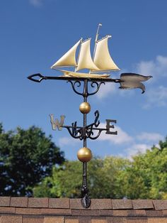 46-inch Yacht Weathervane By Whitehall Products