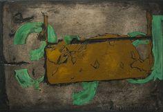 SE Baseline St. by Evan Orlando Oil on Carved Masonite 22 in x 15 in